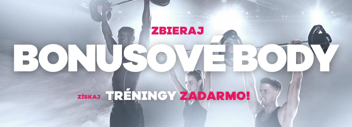 e38d285ccb13 Bonusové body - NEONKA fitness centrum Košice - Optima – Cvič s nami!