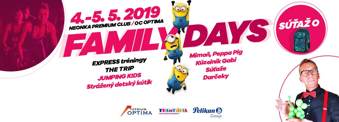 f68d9c3d613b FAMILY DAYS - NEONKA fitness centrum Košice - Optima – Cvič s nami!